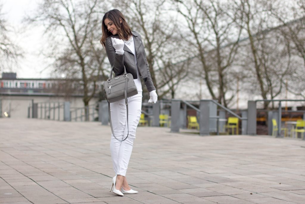 Gray and White City Chic Winter Attire {Part 2}