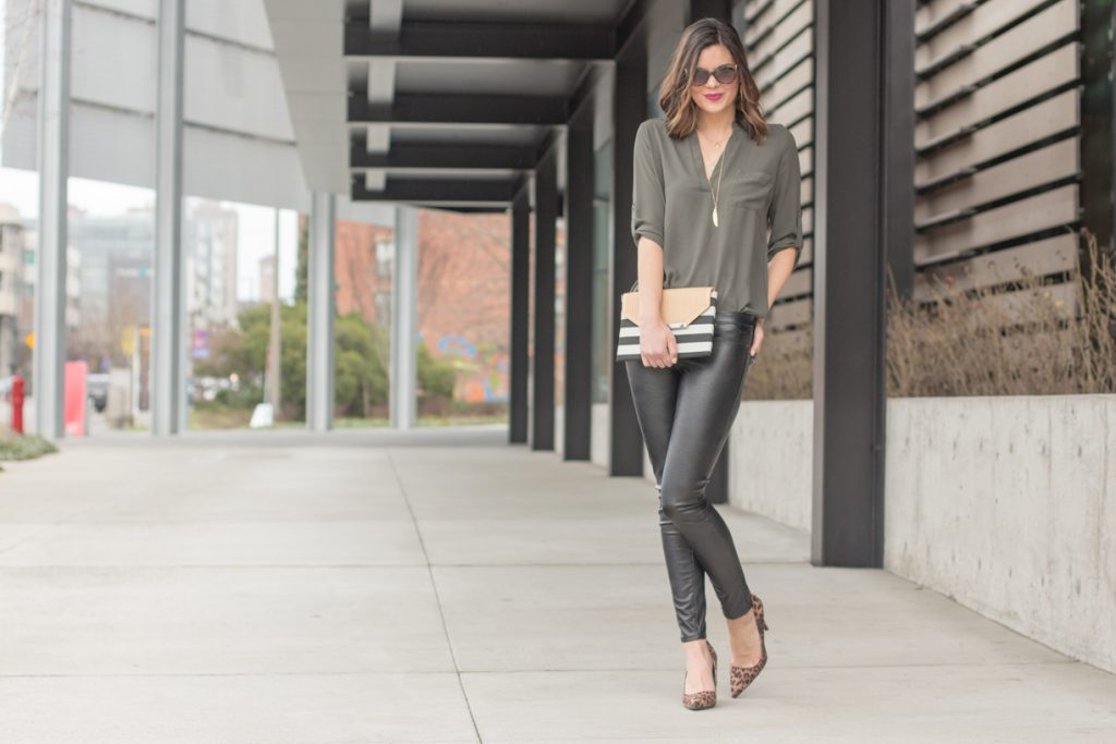 Why You Need Leather Leggings + Tips on How to Style Them