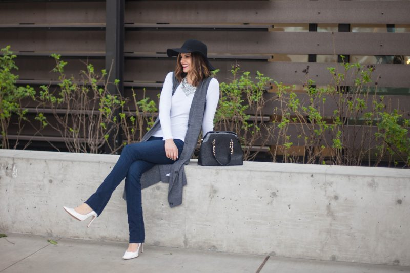 Transitioning to Your Spring Wardrobe with A Duster Cardigan