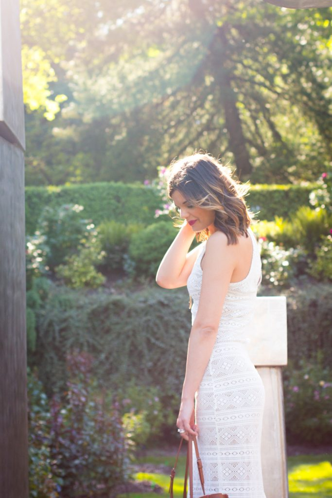Boho Chic White Maxi Dress | Style Miss Molly | 5 Questions I Get Asked Most About Blogging