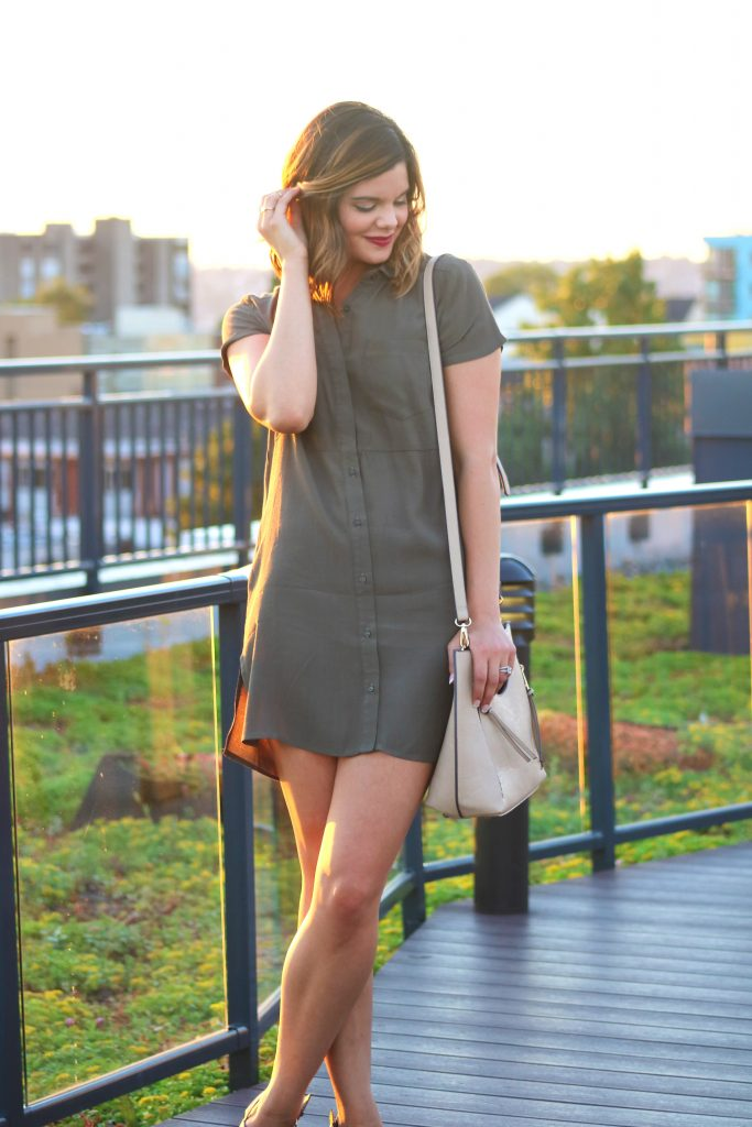 Green Shirtdress | Shopping sales | Nordstrom Anniversary Sale