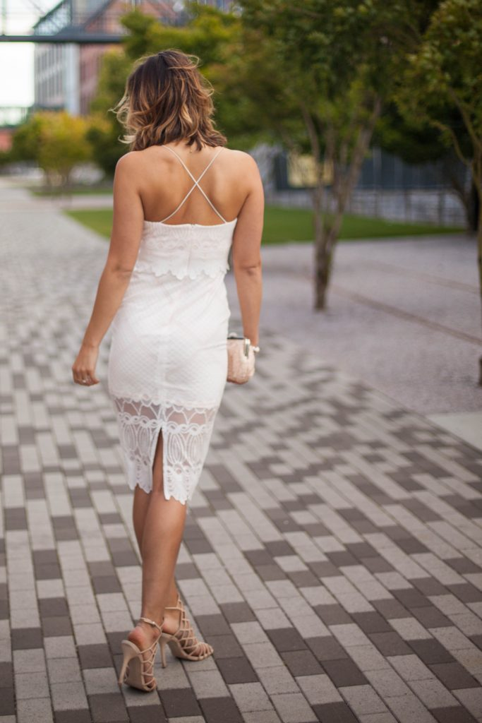 LWD | Little White Dress | Lace Midi | Summer Dresses