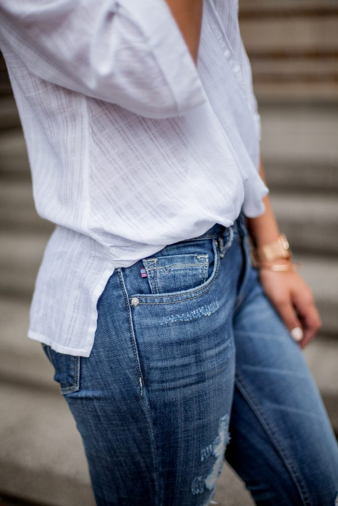 How To Fearlessly Deal with Trials | Distressed Jeans | HERboutique.com