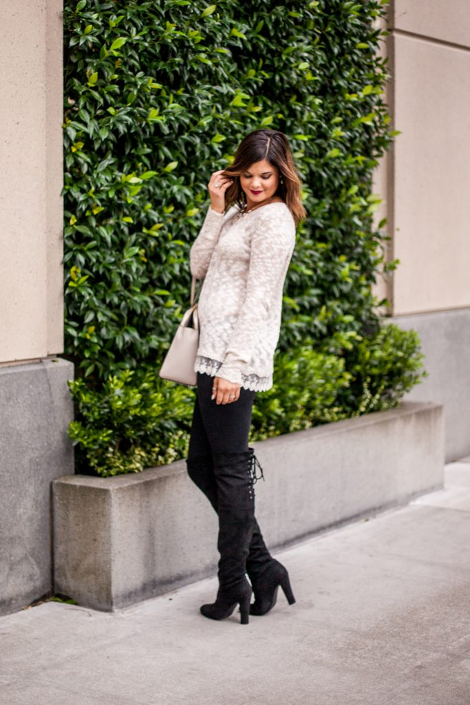 3 Sweater Styles You Need | Fall fashion | HERboutique.com | OTK boots