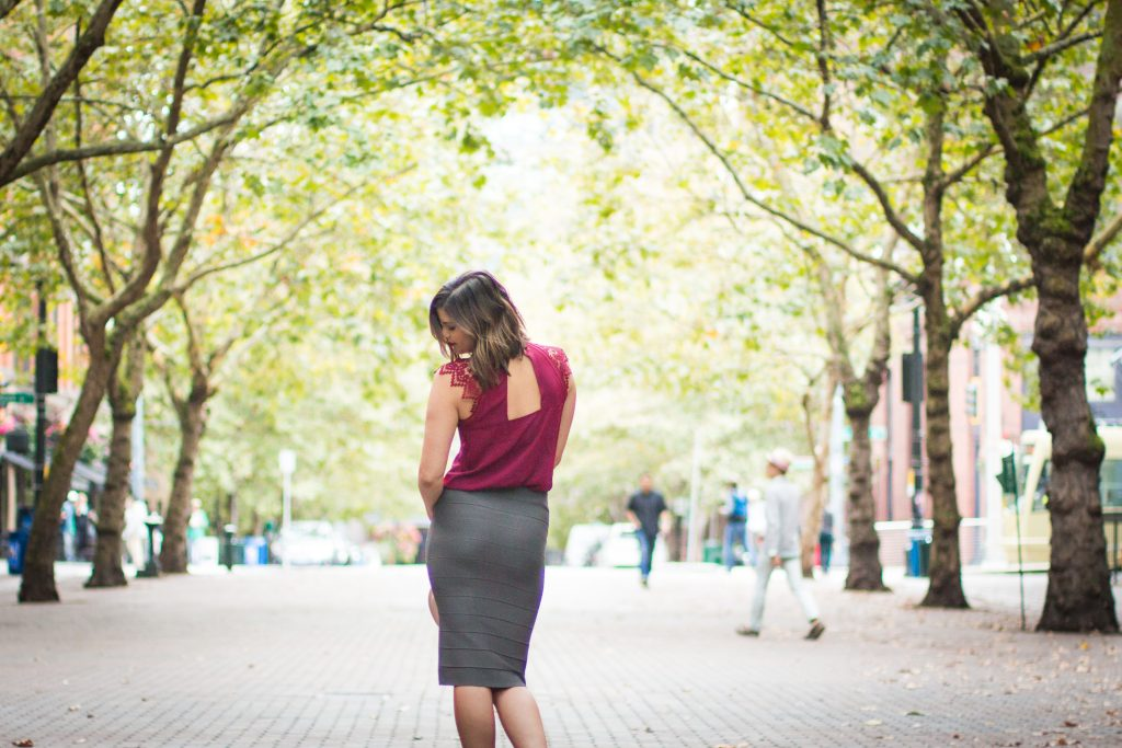 Pantone Fall Color Report | Pencil Skirt | Work Wear