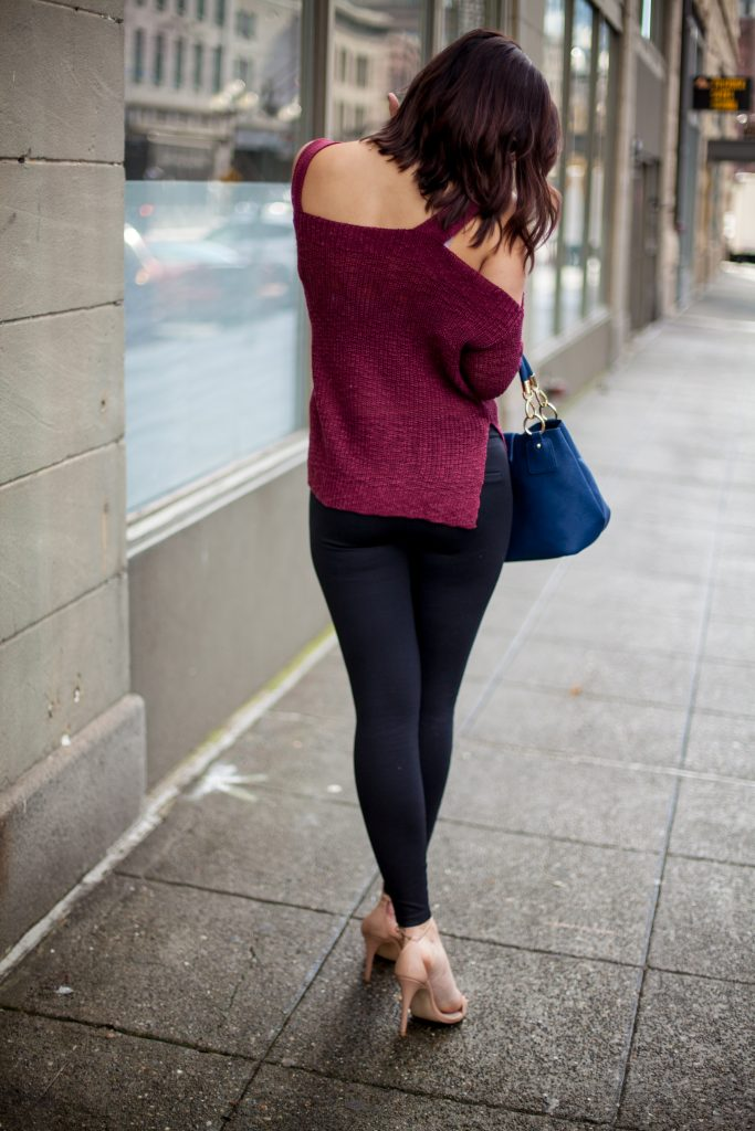 HERboutique.com | Cold Shoulder Tops | Fall Fashion