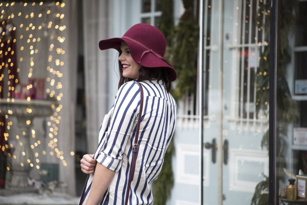 Herboutique.com | 2016 Recap | Stripes | Winter | Fashion | Floppy Hats